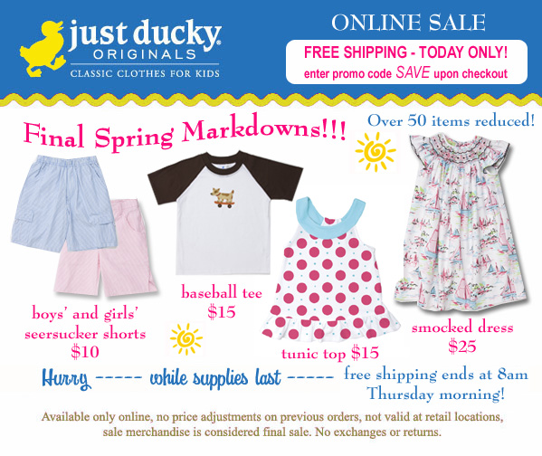 Final Markdowns + Free Shipping - $5,$10,$12 and Up Specials