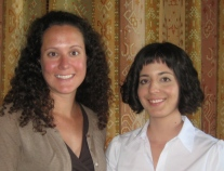 Mary Ogle and Jessica Ugarte