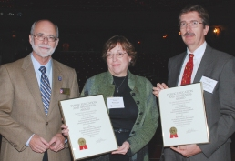 Left to Right, Jim Strider, Marcia Moll, and Rick Sicha