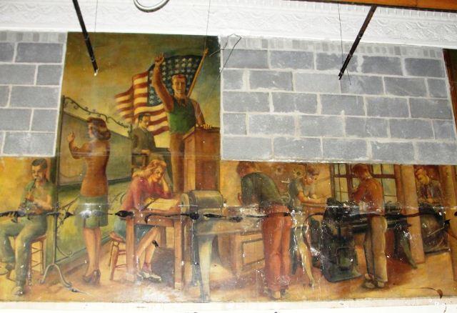 John Marshall mural