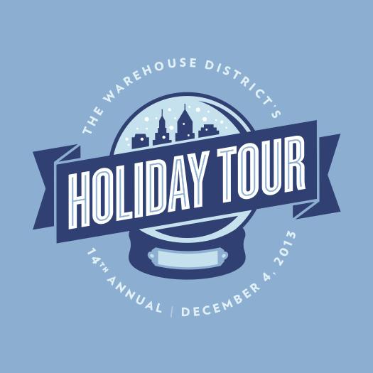Warehouse District holiday tour logo
