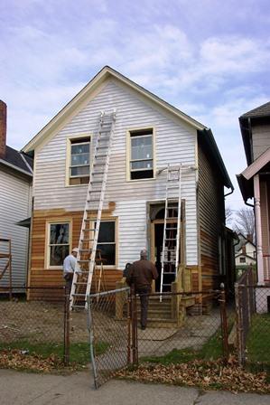 Heritage Home Program house under construction