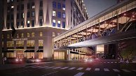 Higbee Building proposed skywalk