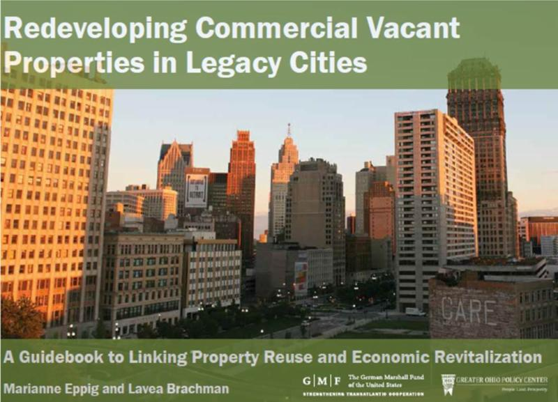 Redeveloping Vacant Properties cover