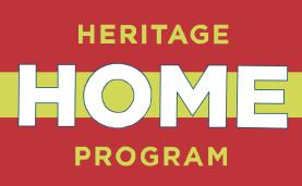 Heritage Home Program logo