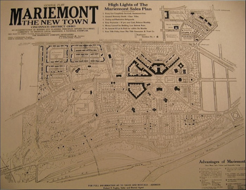 Mariemont map