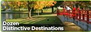 Dozen Distinctive Destinations