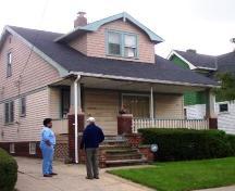 Heritage Home Program site visit