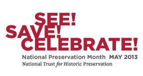 Preservation Month logo