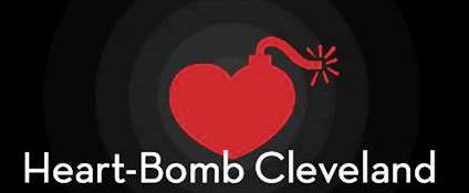 Heart-Bomb Cleveland logo