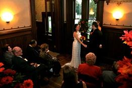 wedding at the Sarah Benedict House