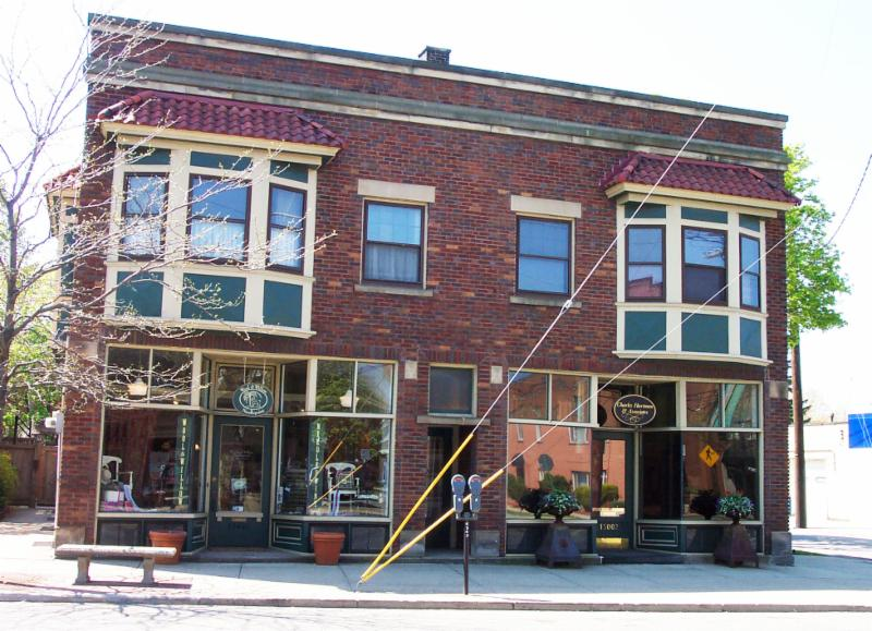 Larchmere commercial building