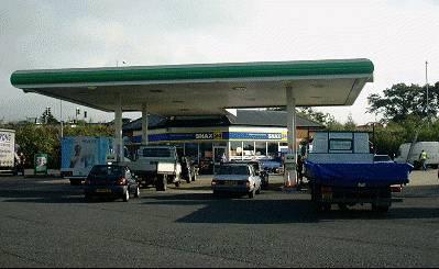 BP forecourt