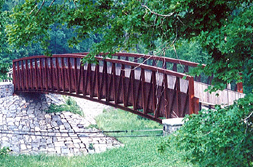 possible bridge design for Falls Lake