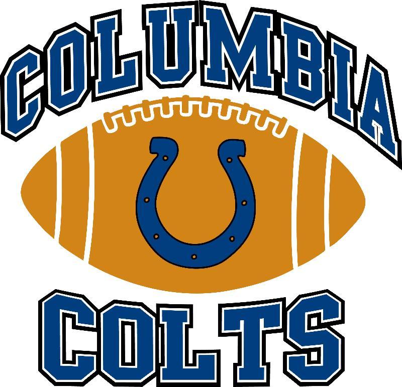 Columbia Football Logo Columbia Colts Logo New