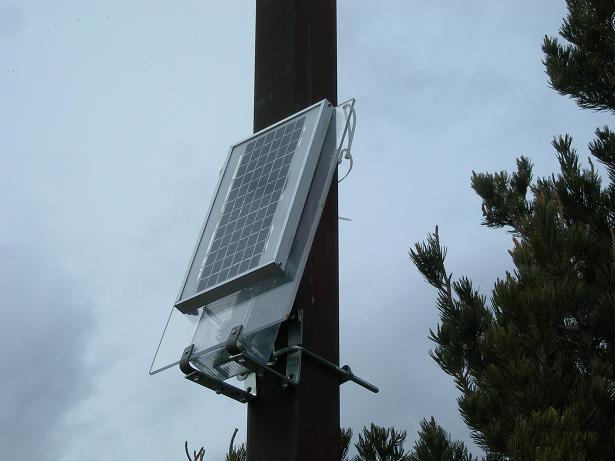 solar powered wireless demo