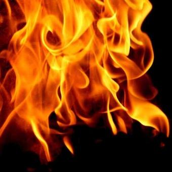 L'ag B'Omer bonfire