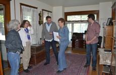 Volstead house tour