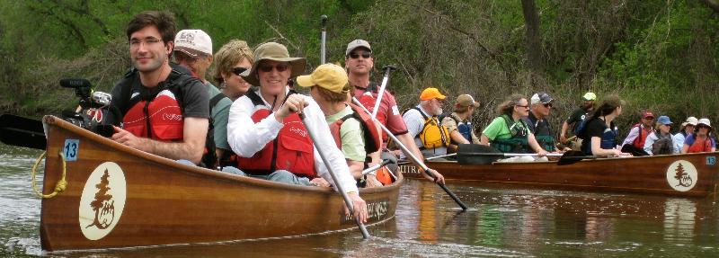 Canoe Paddling Theater