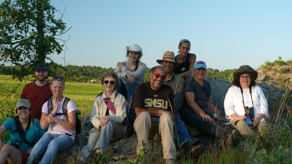 Gneiss Outcrop Hike Group
