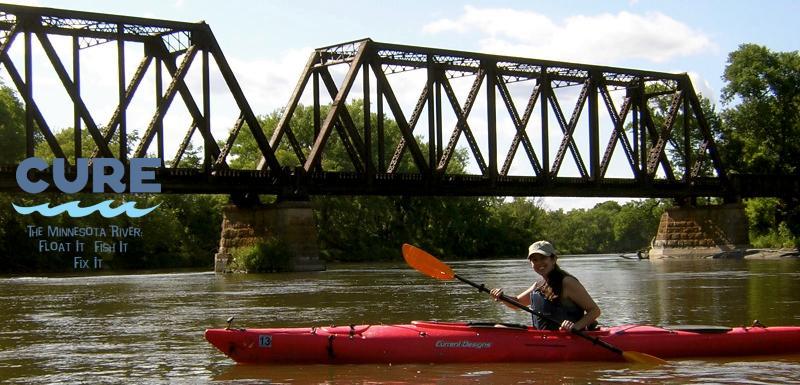 Kayaking the Minnesota River