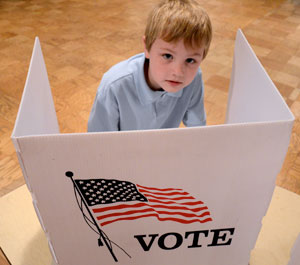 election day is teachable moment