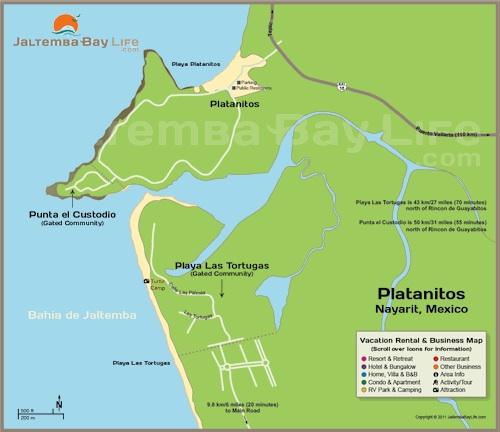 Map of Platanitos