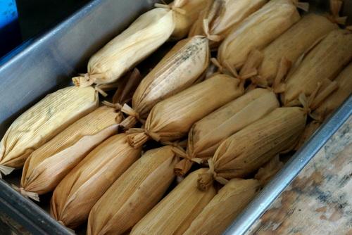 Tamales in La Penita