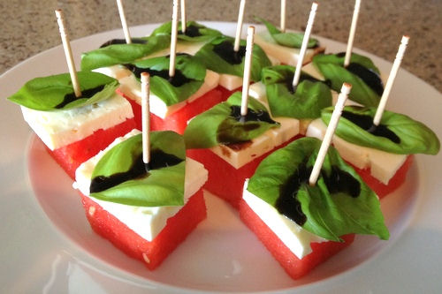 Watermelon Appetizers Ally W