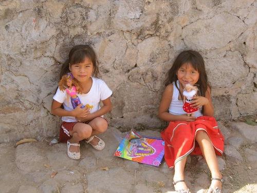 VF visit to huichol village