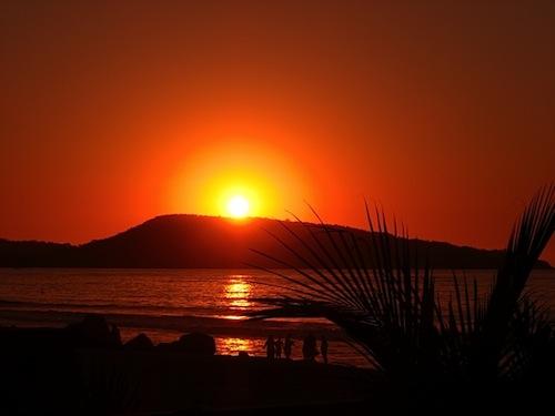 Wendy Sunset over Guayabitos