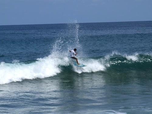 Surfing San Pancho