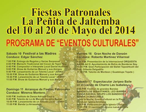 Fiestas Patronales 2014 Poster