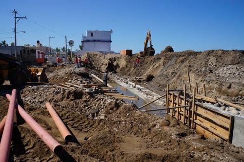 Malecon Construction in La Penita