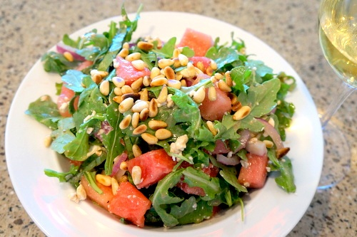 watermelon-arugula-salad