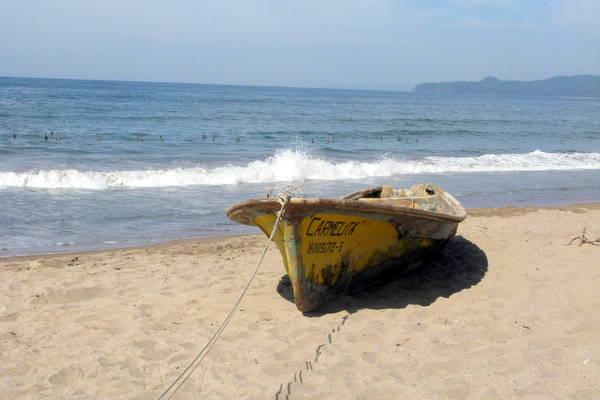 Fishing Boat in La Penita