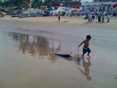 Fun at the Beach by Brian Betts