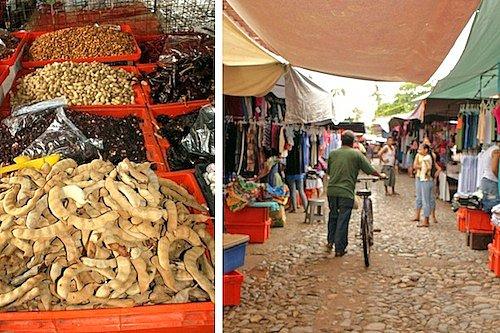 Tianguis Market in La Penita