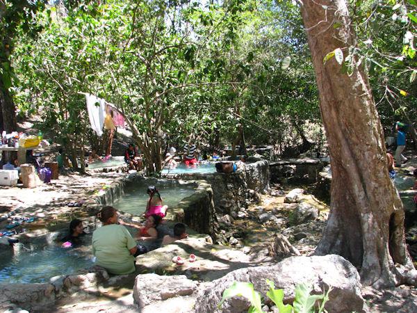 Nuevo Ixtlan hot pools
