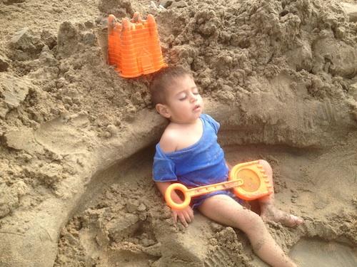 Siesta in the Sand