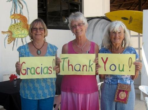 Las Tres Amigas Thanks