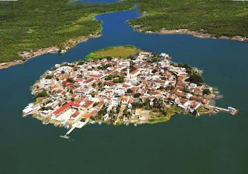 Island of Mexcaltitan