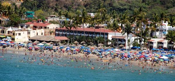 Christina Stobbs beach scene