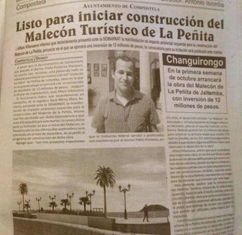 DT La Penita Malecon timeline