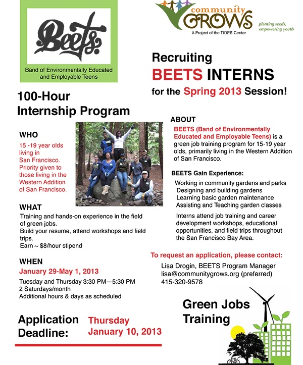BEETS-Flyer-2013 Spring