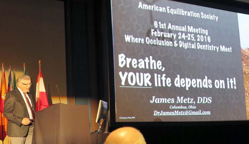 Dr. Metz at AES 2016 Meeting