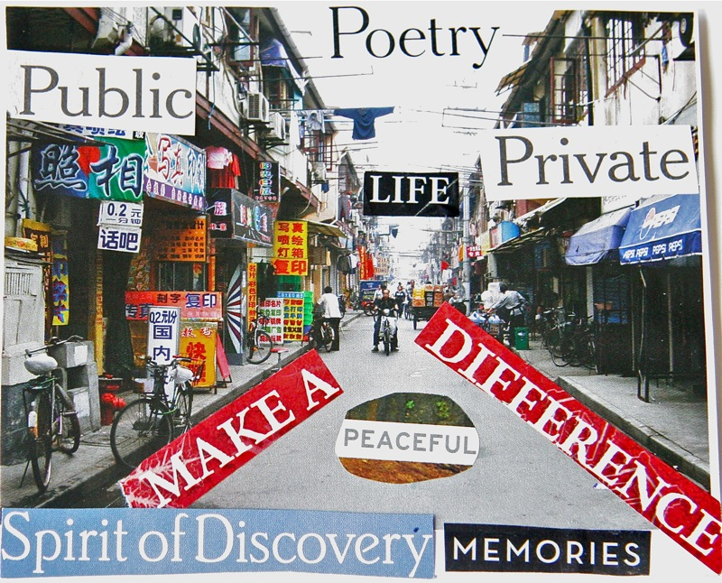 collage poem by Laurie