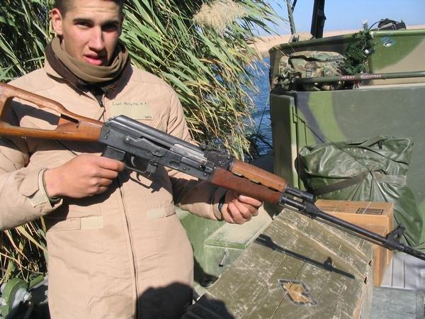 Brian in Fallujah