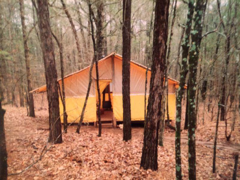 SCYC tent