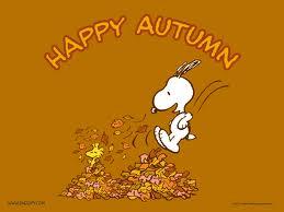Snoopy Leaves
